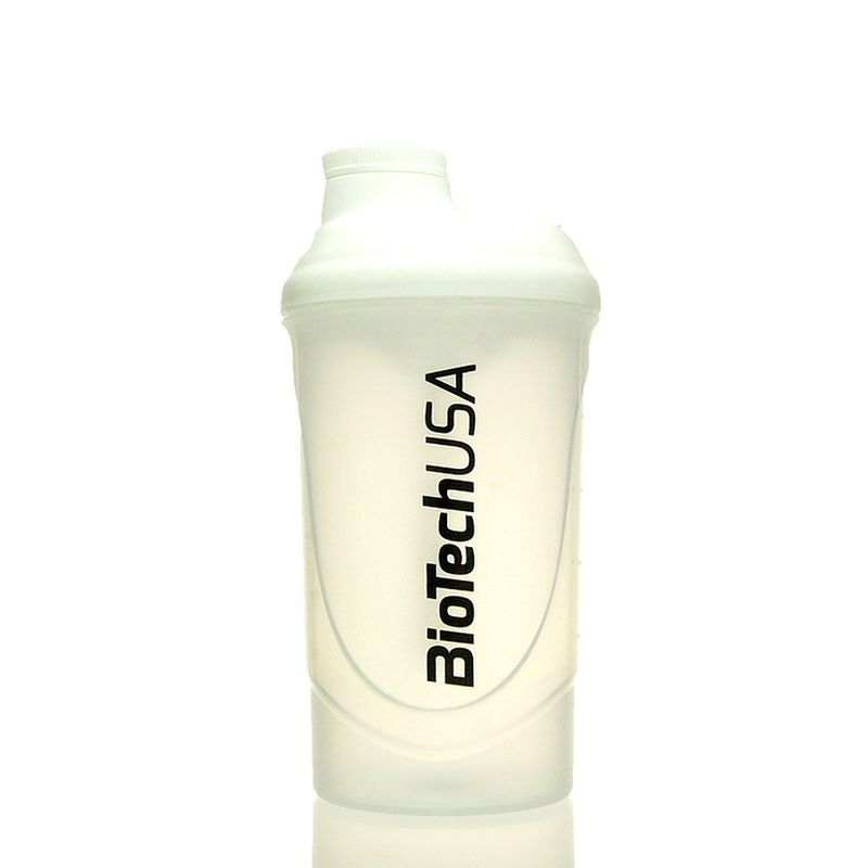Biotech USA Limited Edition Wave Shaker 600ml Weiß/Transparent