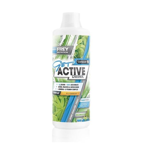 Frey Nutrition Get Active Drink 1000ml Waldmeister