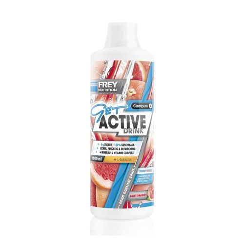 Frey Nutrition Get Active Drink 1000ml Blutorange