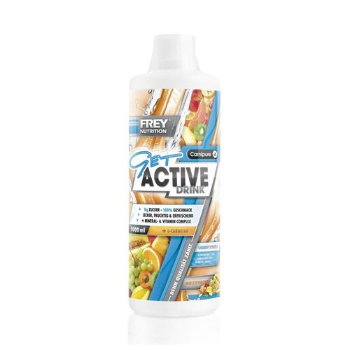 Frey Nutrition Get Active Drink 1000ml Multifrucht