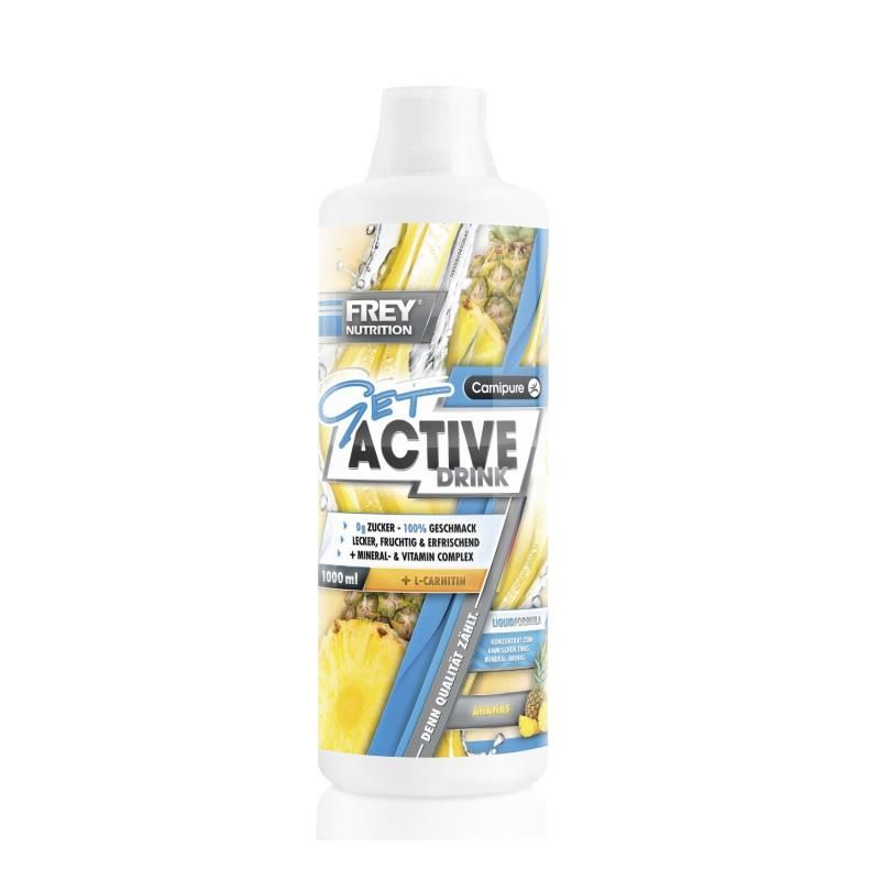 Frey Nutrition Get Active Drink 1000ml Ananas