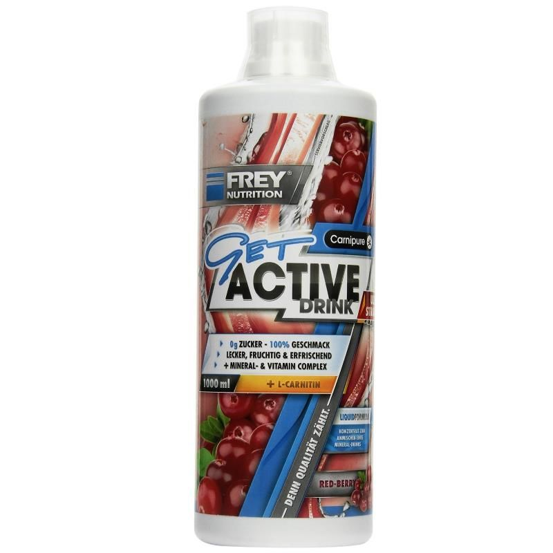 Frey Nutrition Get Active Drink Ultra Strong 1000ml Red-Berry