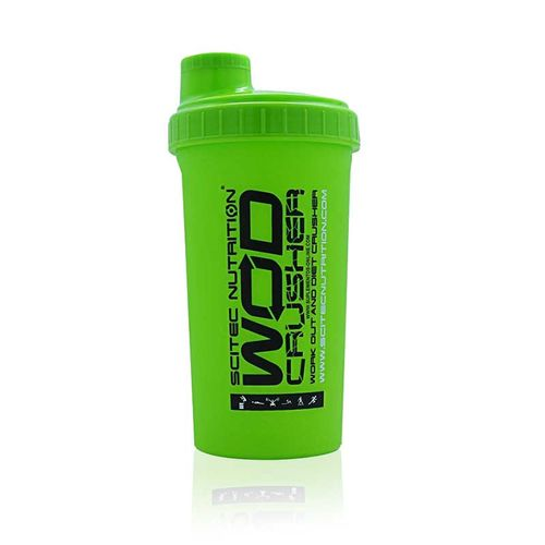 Scitec Nutrition Wod Crusher Shaker 700ml Grün