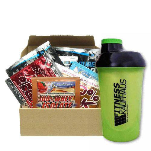 Supplement Sample Box - 20 Proben + Shaker