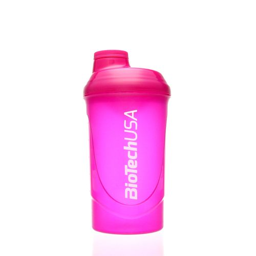 Biotech USA Limited Edition Wave Shaker 600ml Magenta/Transparent