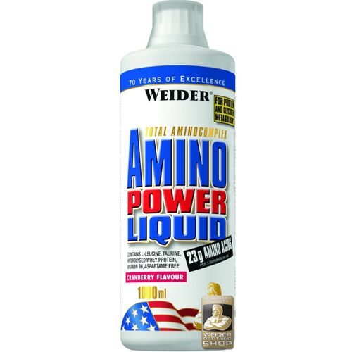 Weider Amino Power Liquid 1000ml Cranberry