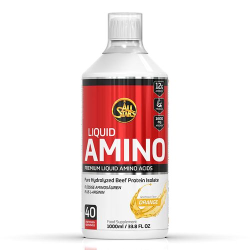 All Stars Amino Liquid Acid 1000ml Orange