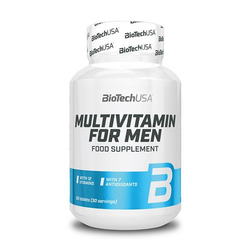 Biotech USA Multivitamin for Men 60 Tabletten