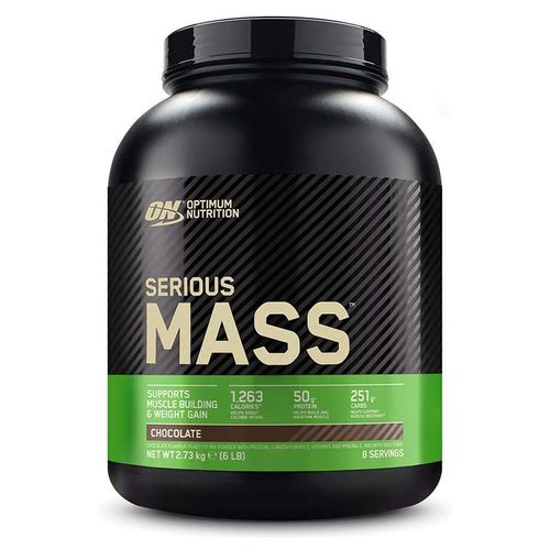 Optimum Nutrition Serious Mass 2727g Schokolade-Erdnussbutter