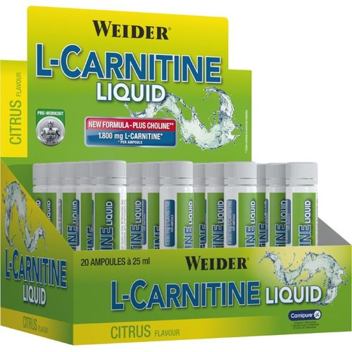 Weider L-Carnitine Liquid 20x25ml a 1.800mg Pfirisch
