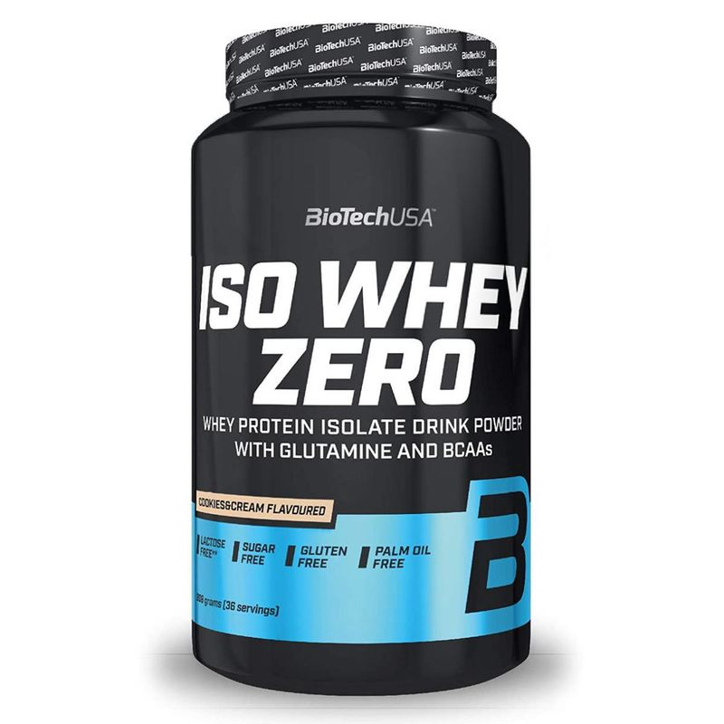 Biotech USA Iso Whey Zero 908g Cookie&Cream