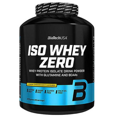 Biotech USA Iso Whey Zero 2270g Lemon-Cheescake