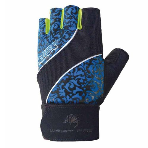 Chiba Lady Wristpro Trainingshandschuhe Schwarz/royal