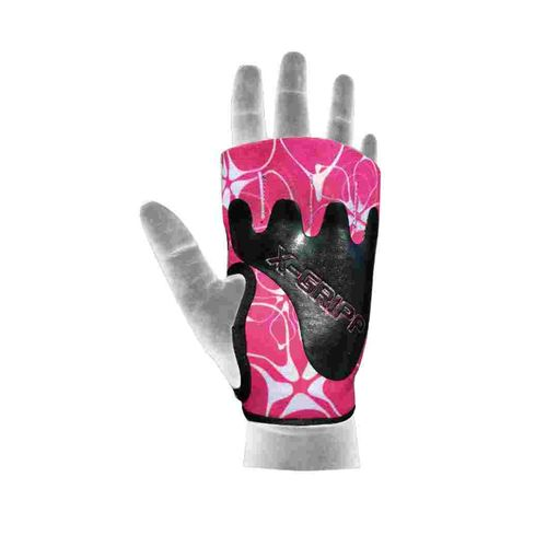 Chiba Lady Motivation Glove Trainingshandschuhe Pink/weiß/schwarz