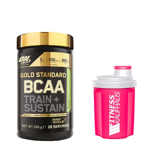 Optimum Nutrition Gold Standard BCAA Train + Sustain 266g + Ladyline Shaker