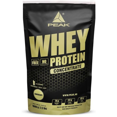 Peak Whey Protein Concentrate 1000g Chocolate