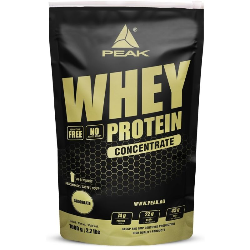 Peak Whey Protein Concentrate 1000g Vanilla