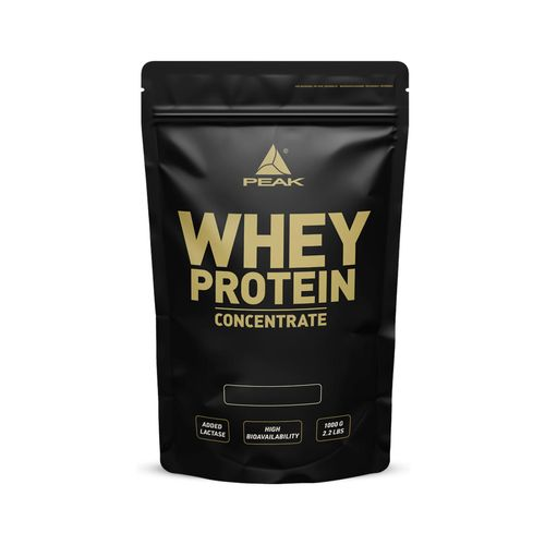 Peak Whey Protein Concentrate 1000g Blueberry Vanilla