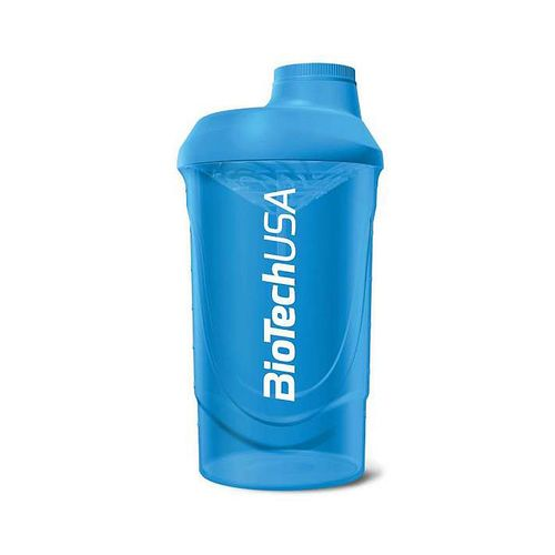 Biotech USA Limited Edition Wave Shaker 600ml Blau/Transparent