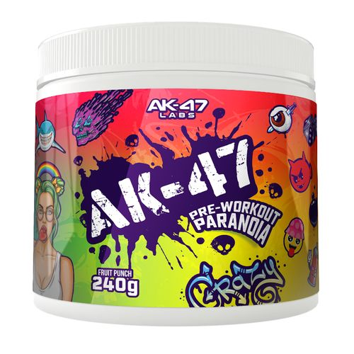 AK-47 Labs Pre-Workout Paranoia Booster 240g Lemon Lime