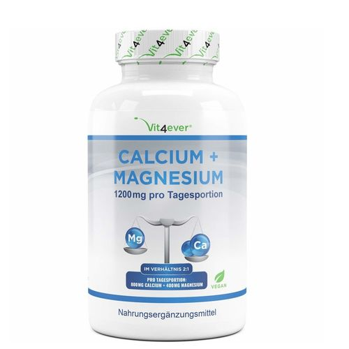 Vit4ever Calcium + Magnesium 360 Tabletten