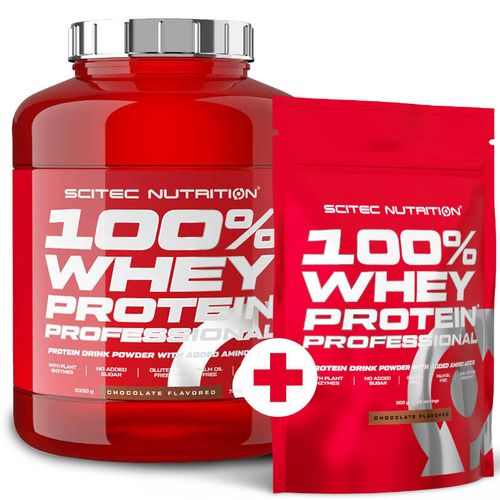 Scitec Nutrition 100% Whey Protein Professional 2350g + 500g