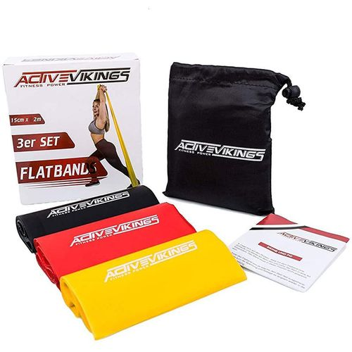 ActiveVikings Flatbands 2m 3er Set