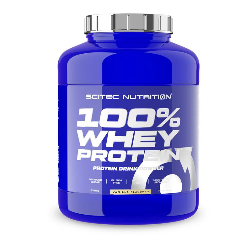 Scitec Nutrition 100% Whey Protein 2350g Vanille