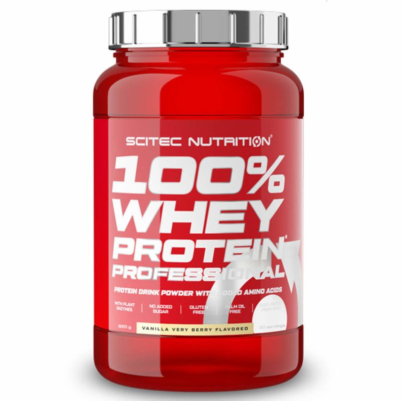 Scitec Nutrition 100% Whey Protein Professional 920g Vanille Waldfrucht