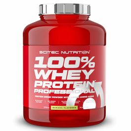 Scitec Nutrition 100% Whey Protein Professional 2350g Banane