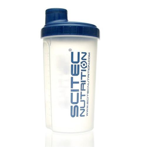 Scitec Nutrition Shaker - 700ml Transparent/Blau