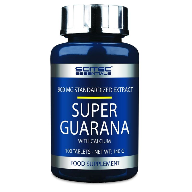 Scitec Essentials Super Guarana 100 Tabletten