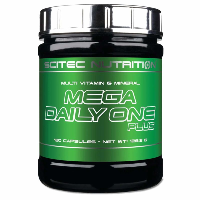 Scitec Nutrition Mega Daily One Plus 120 Kapseln