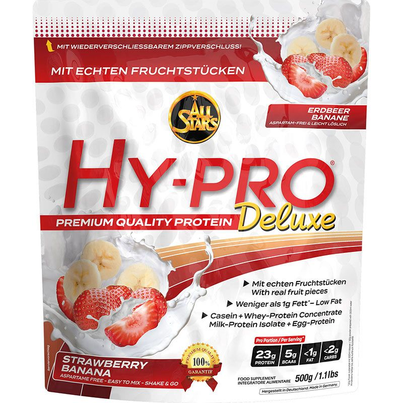 All Stars Hy-Pro Deluxe 500g Blueberry-Vanilla