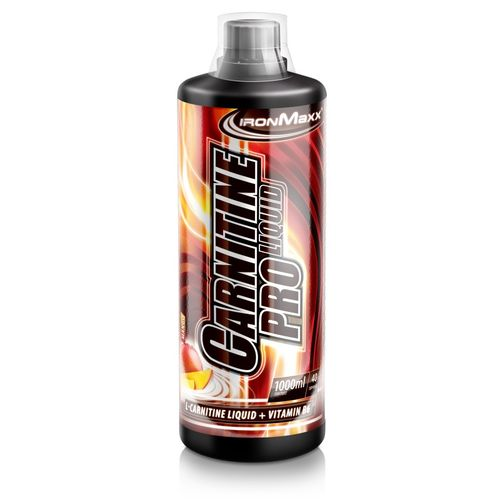 IronMaxx Carnitin Pro Liquid 1000ml Erdbeere