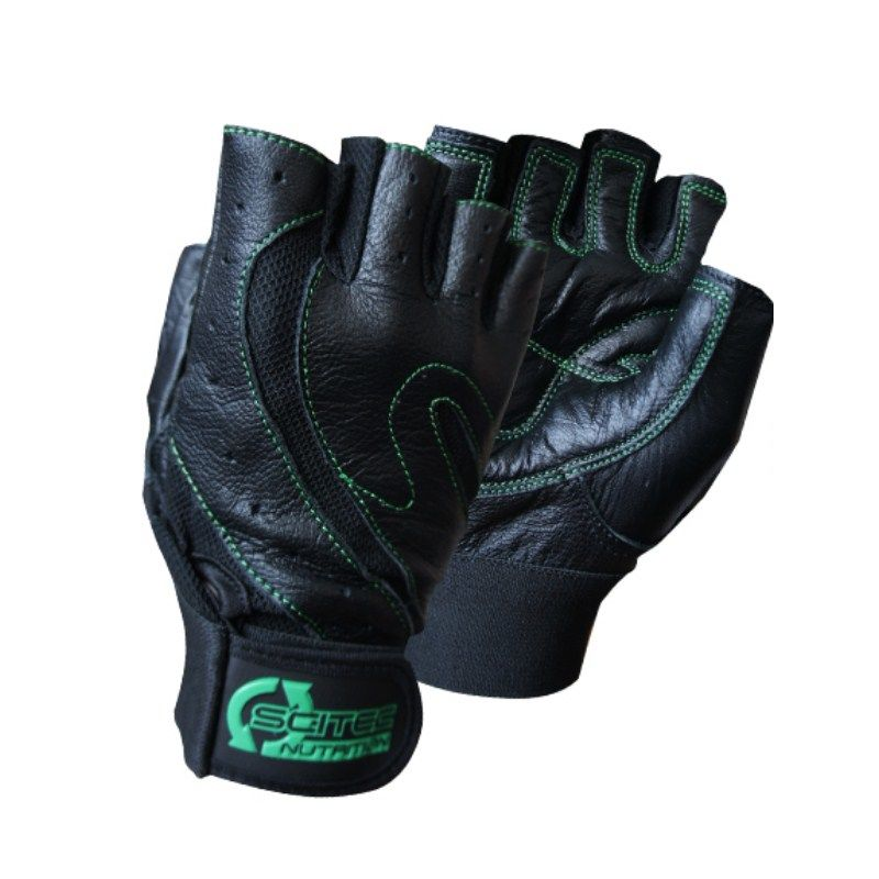Scitec Nutrition Handschuhe Green Style - S