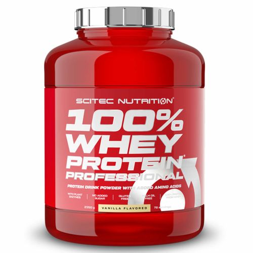 Scitec Nutrition 100% Whey Protein Professional 2350g Vanille