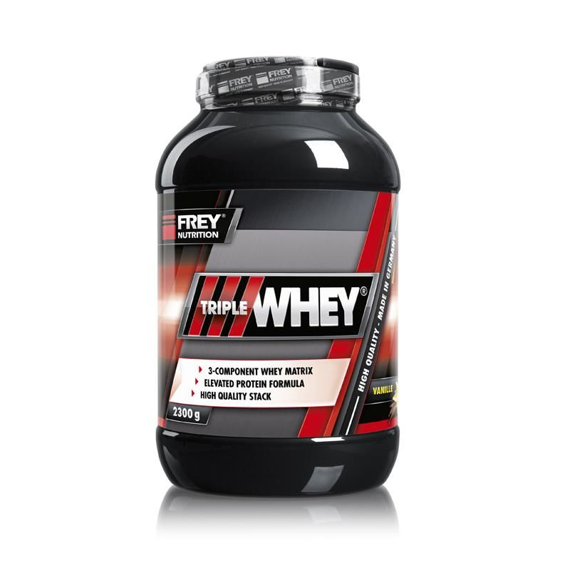 Frey Nutrition Triple Whey 2300g Vanille