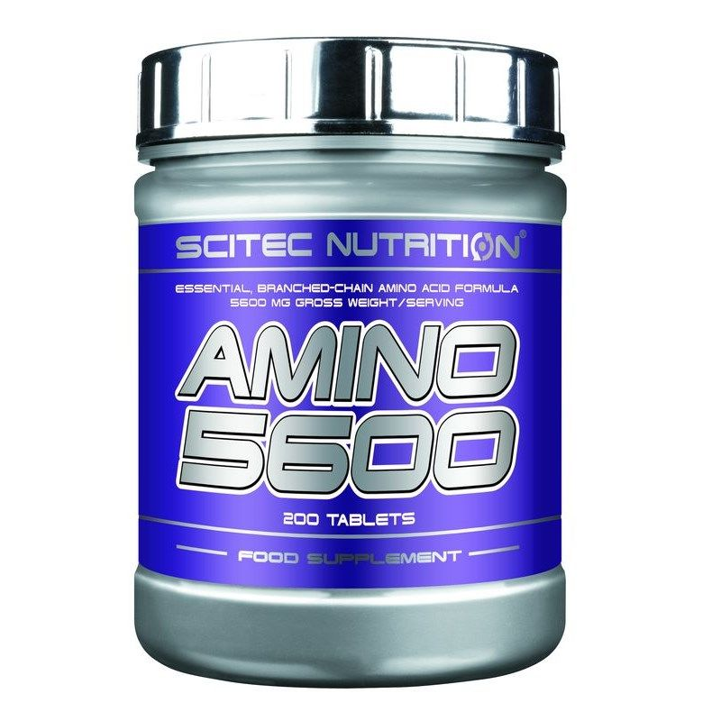 Scitec Nutrition Amino 5600 - 200 Tabletten