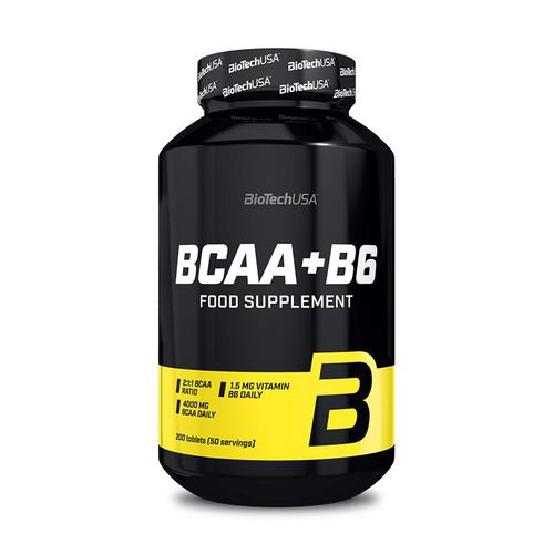 Biotech USA BCAA + B6 - 200 Tabletten