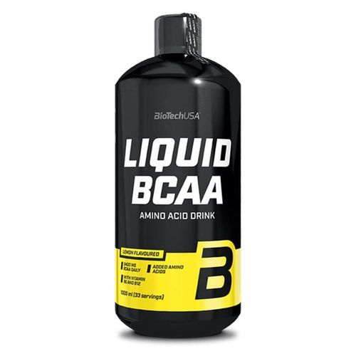 Biotech USA Liquid BCAA 1000ml Zitrone