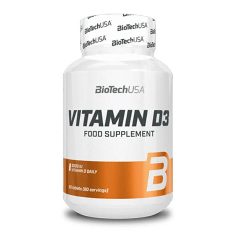 Biotech USA Vitamin D3 - 60 Tabletten