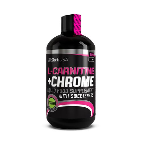 Biotech USA L-Carnitine + Chrome 500ml Orange