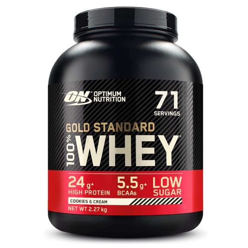 Optimum Nutrition 100% Whey Gold Standard 2270g Cookies & Cream