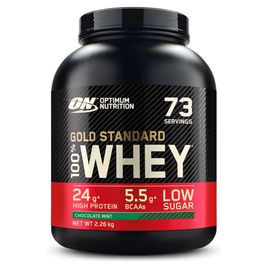 Optimum Nutrition 100% Whey Gold Standard 2270g Schokolade Minze