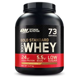 Optimum Nutrition 100% Whey Gold Standard 2270g Caramel Toffee Fudge