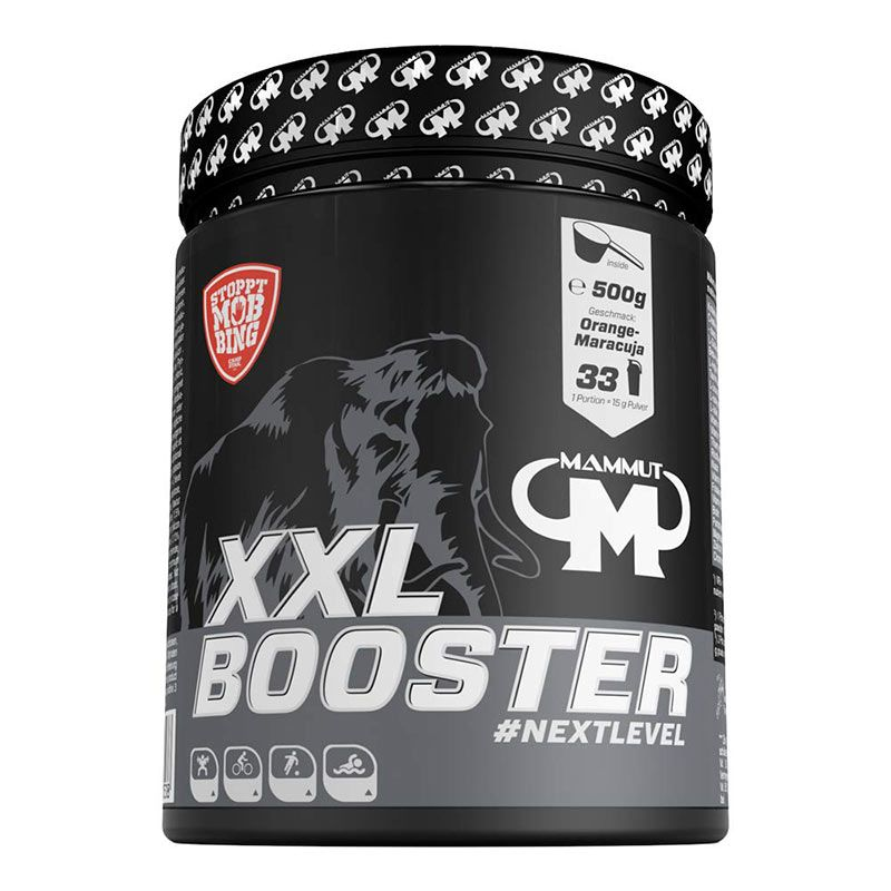 Mammut XXL Booster 500g Orange Maracuja